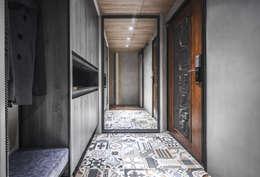 03:  走廊 & 玄關 by 樂沐室內設計有限公司