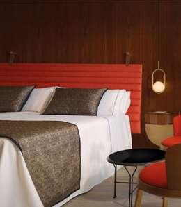 Camera da letto in stile in stile Minimalista di iLamparas.com