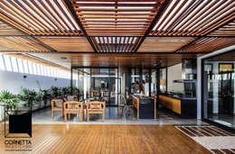 Дома в . Автор – Cornetta Arquitetura
