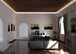modern Living room by Eleni Lighting