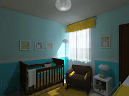 بچے کا کمرہ  by Residenza by Diego Bibbiani