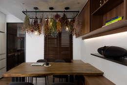 來我家吧!:  餐廳 by 釩星空間設計