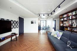 غرفة المعيشة تنفيذ 로하디자인
