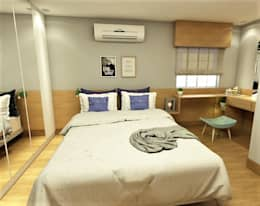 modern Bedroom by D Lange Interiores