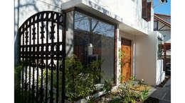 CASA CU: Casas unifamiliares de estilo  por NEF Arq.
