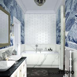 classic Bathroom by MIKOŁAJSKAstudio
