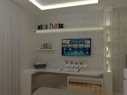 modern Bedroom by AJR ARQUITETURA