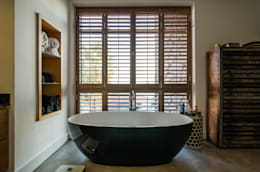 Modern Farmhouse - Silverlakes Nature Reserve: modern Bathroom by Karel Keuler Architects