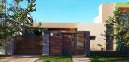 Casa Ts3_1: Casas de estilo moderno por ELVARQUITECTOS