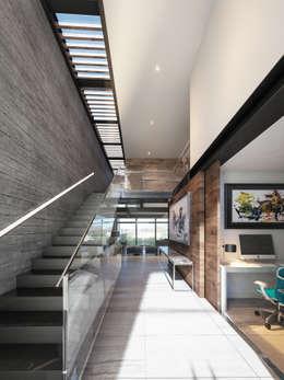 Pasillos y vestíbulos de estilo  por ORTHER Architects