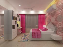 Daughter's Bedroom: minimalistic Bedroom by A Design Studio