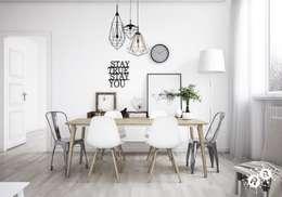 scandinavian Living room by Rimini Render