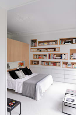 modern Bedroom by STUDIO RAZAVI ARCHITECTURE