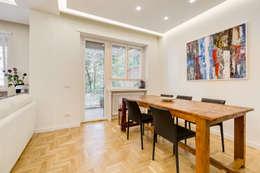 Farnesina   minimal design: Sala da pranzo in stile in stile Minimalista di EF_Archidesign