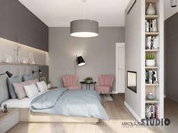 modern Bedroom by MIKOŁAJSKAstudio
