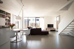 غرفة المعيشة تنفيذ 8A Architecten