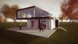 PROTOTIPO CASA M: Casas de estilo mediterraneo por Dušan Marinković - Arquitectura