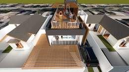CASA FERNÁNDEZ – SOFFIA: Casas de estilo mediterraneo por Dušan Marinković - Arquitectura