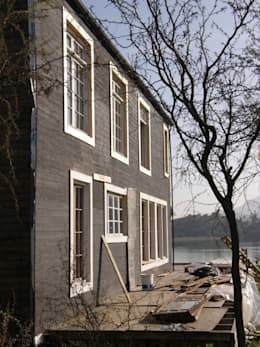 CASA ISABEL RAIES R.- PELEQUÉN: Casas de estilo minimalista por Dušan Marinković - Arquitectura