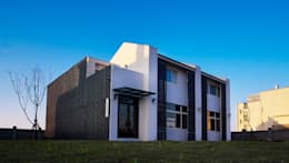 Projekty, nowoczesne Domy zaprojektowane przez Glocal Architecture Office (G.A.O) 吳宗憲建築師事務所/安藤國際室內裝修工程有限公司