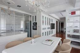 Cocinas de estilo moderno por Glocal Architecture Office (G.A.O) 吳宗憲建築師事務所/安藤國際室內裝修工程有限公司