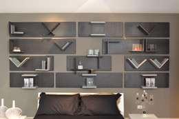 industrial Bedroom by Ronda Design