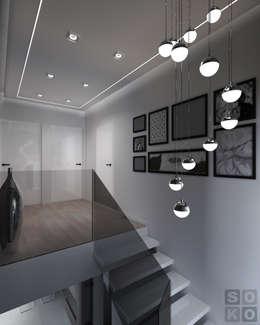 KORYTARZ: styl , w kategorii  zaprojektowany przez STUDIO SOKO