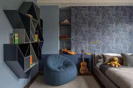 Habitaciones infantiles de estilo  por Roselind Wilson Design