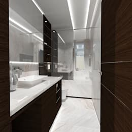modern Bathroom by TheeAe Architecture & Interior Design Limited