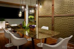Projekty,  Jadalnia zaprojektowane przez Chibi Moku