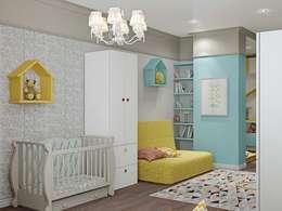 غرفة الاطفال تنفيذ ДизайнМастер