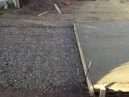 Paredes y suelos de estilo minimalista de Development Architectural group