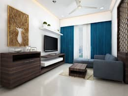 minimalistic Living room by The inside stories - by Minal