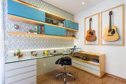 مكتب عمل أو دراسة تنفيذ Mímesis Arquitetura e Interiores