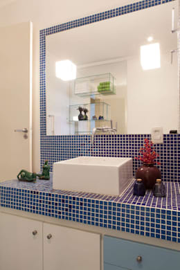 Baños de estilo moderno por RK Arquitetura & Design