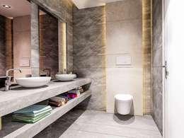 Projekty,  Łazienka zaprojektowane przez VERO CONCEPT MİMARLIK