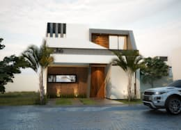 Casas de estilo moderno por EBA Architecture & Desing