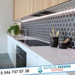moderne Küche von Antalya Fayans Ustası - 0 546 737 07 38