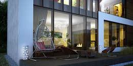 بلكونة أو شرفة تنفيذ ART Studio Design & Construction