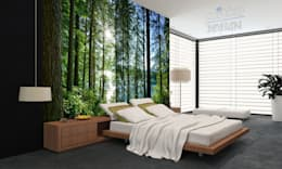 غرفة نوم تنفيذ Mitko Design