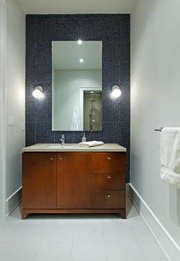 Powder Room: modern Bathroom by Douglas Design Studio