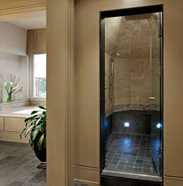 Master Ensuite Shower: modern Bathroom by Douglas Design Studio