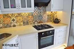 Konset Mobilya Tasarım  – Country tarzı mutfak dekorsayonumuz : kırsal tarz tarz Mutfak