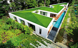 Zig Zag House: modern Houses by MinistryofDesign