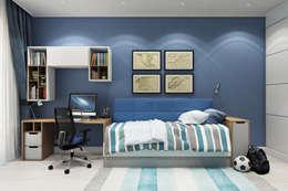 ЖК Риверсайд: Детские комнаты в . Автор – Дарья Баранович Дизайн Интерьера