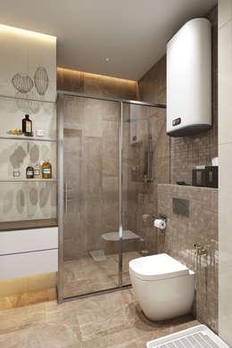 ЖК Риверсайд: Ванные комнаты в . Автор – Дарья Баранович Дизайн Интерьера