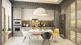 ЖК Риверсайд: Кухни в . Автор – Дарья Баранович Дизайн Интерьера