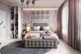 ЖК Риверсайд: Спальни в . Автор – Дарья Баранович Дизайн Интерьера