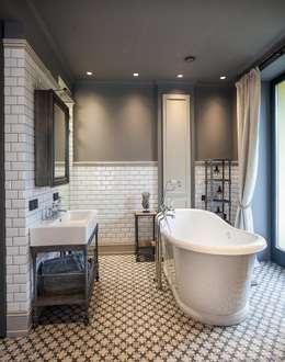 industrial Bathroom by Hampstead Design Hub