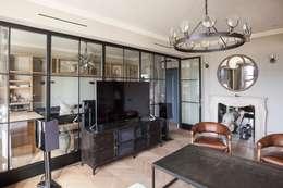 industrial Living room by Hampstead Design Hub